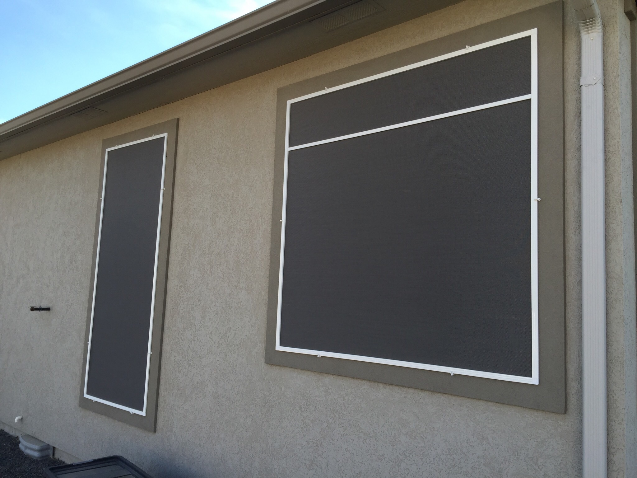 solar window screens northwest shade co. Black Bedroom Furniture Sets. Home Design Ideas