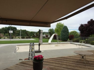 Retractable Awning Patio View