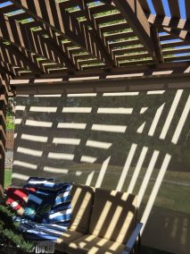 Front Solar Shade Open