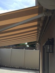 Retractable Awning Steel Arms and case