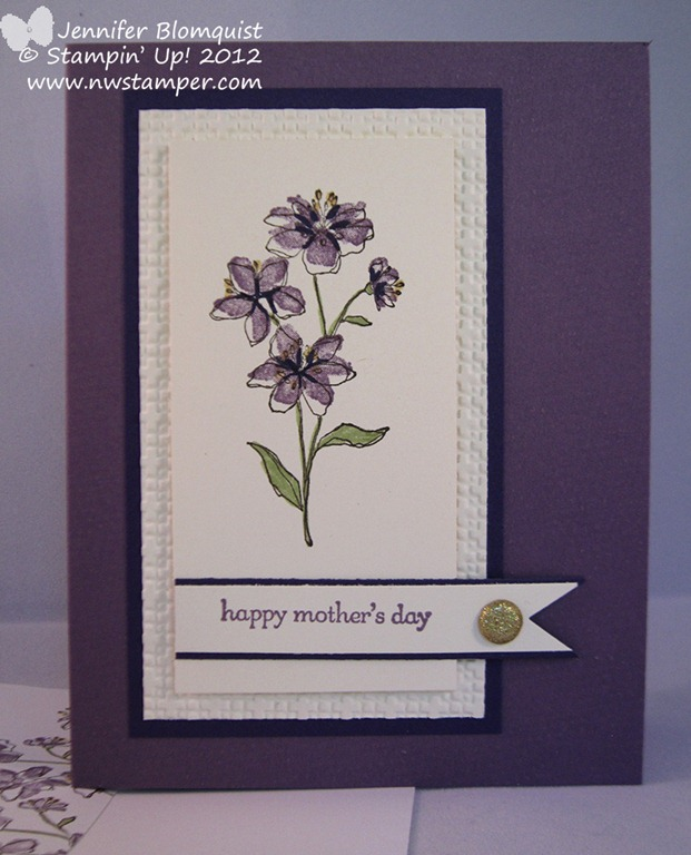 Simply soft elegant mother s day card for Classy mothers day cards