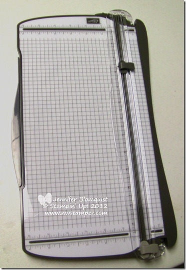 Stampin Trimmer by Stampin Up!