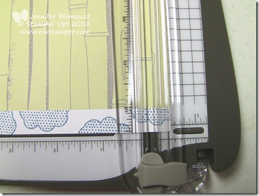 Stampin Trimmer with bigger than 12x12 paper