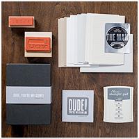 Dude stamp kit