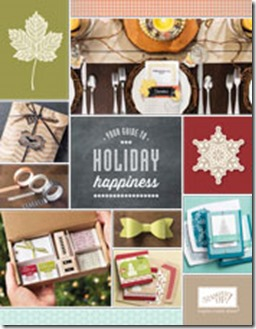 Stampin Up Holiday Catalog 2013