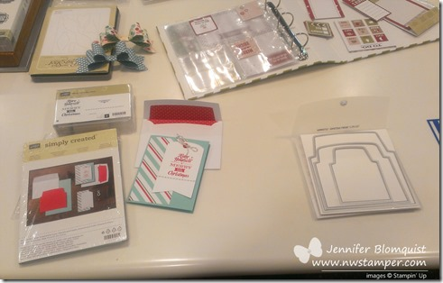 holiday simply sent kit and envelope liners