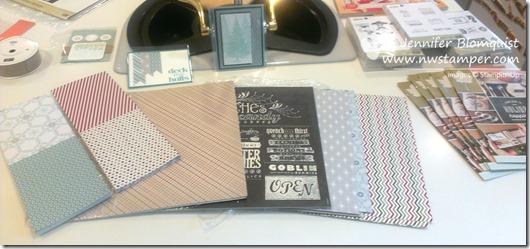 stampin up holiday catalog designer paper