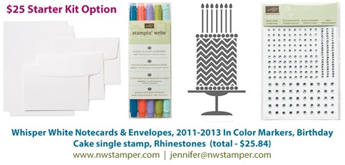 $25 Stampin' Up! Starter Kit