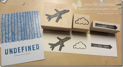 Undefined travel stamp set by Jennifer Blomquist