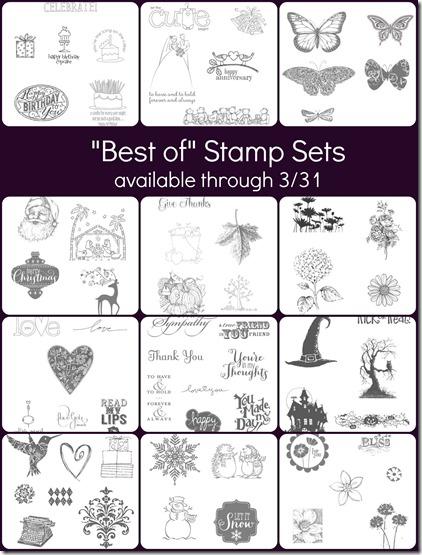 Best of Stamp sets