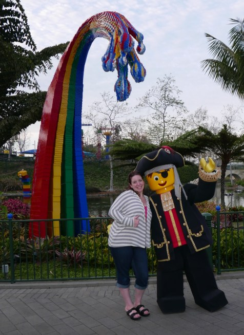 jennifer and the lego pirate