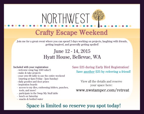 crafty escape weekend fb ad