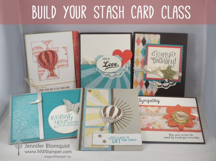 Build Your Stash Card Class by mail sign up