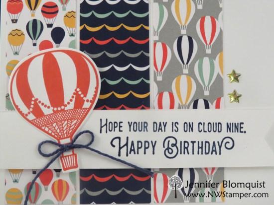 Lift Me Up Bundle Cloud Nine Birthday with Carried Away - Jennifer Blomquist, NWstamper.com