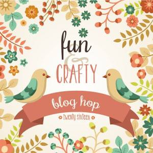 Fun n' Crafty Stampers Blog Hop Badge