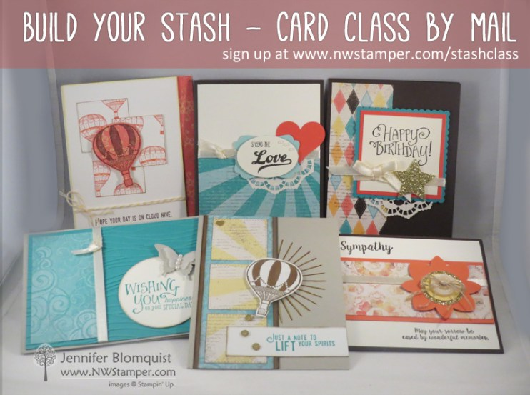 Build You Stash Class by mail - all cards