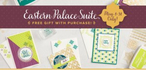 Stampin' Up Eastern Palace Suite Preorder Samples
