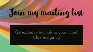click to sign up for my mailing list