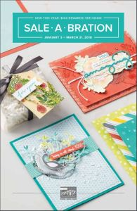2018 Stampin' Up Sale-a-bration catalog cover