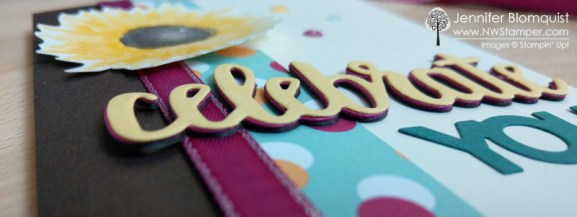 Celebrate You Stacked Die Cuts Embellishment