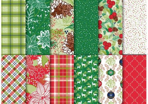 Under the Mistletoe designer paper
