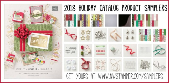 2018 Holiday Catalog Product Sampler