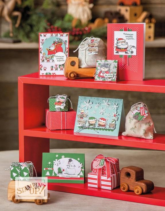 Santa's Workshop Suite card ideas