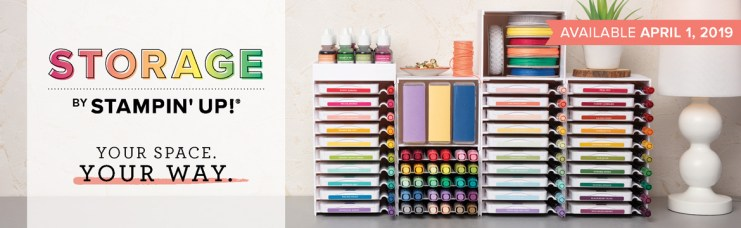 New Ink and marker storage for Stampin up inks - Northwes Stamper