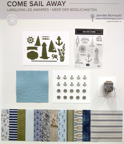 Come Sail Away Suite from Stampin' Up!