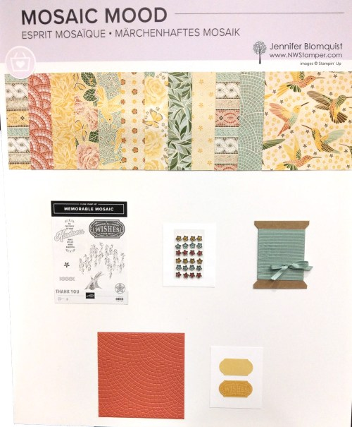 Mosaic Mood suite from Stampin' Up!