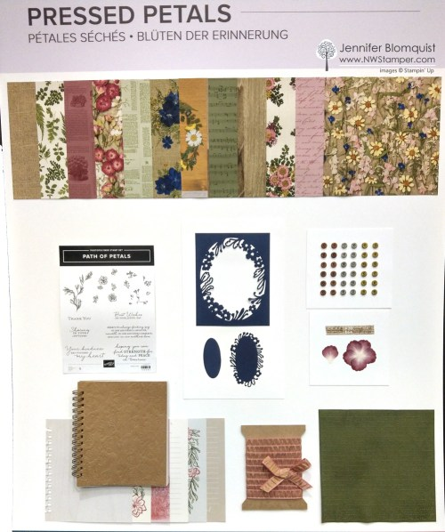 Pressed Petals Suite from Stampin' Up!