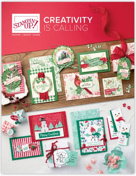 2019 Stampin' Up Holiday Catalog Cover