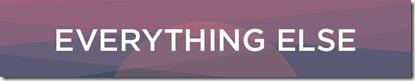 Everything Else button