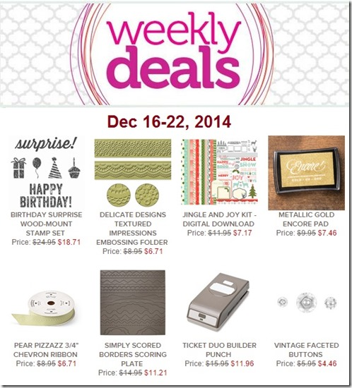 weekly deal 12-16-14
