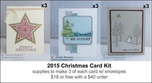2015 Christmas Card kit