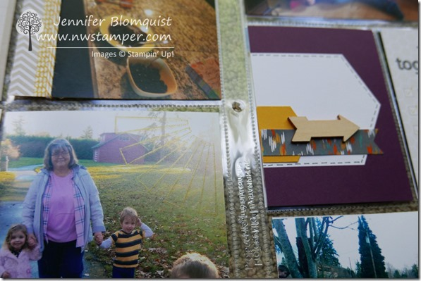 Happiness is project life stamping on photos