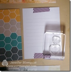 So You stamps with Project Life on a journaling card