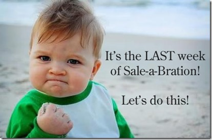 Last week of Sale-a-bration meme