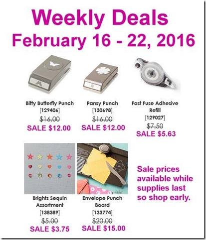 Feb 16 2016 Weekly Deals