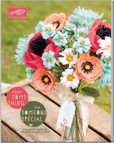 2015 Occasions Catalog cover