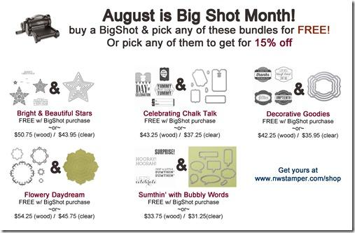 Big Shot Bundles Flyer 2014