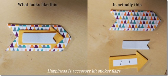happiness is sticker flags