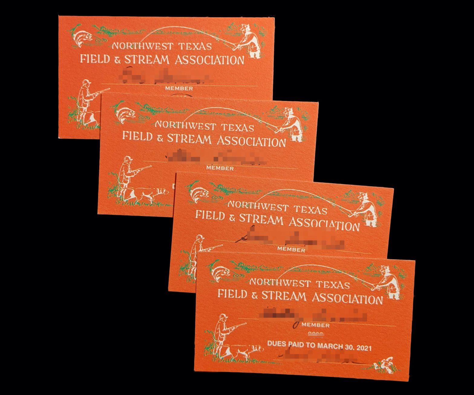 2020 Membership Cards