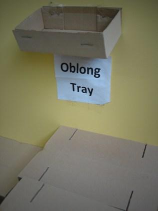 Oblong Tray
