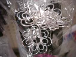 Wire Flower Pins