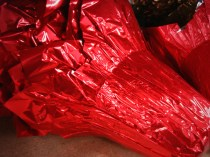 Large Red Pot Covers