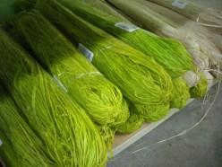 Dyed Raffia