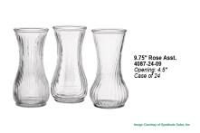 Rose Vase Asst