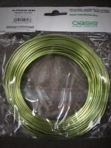 Apple Green Aluminum Wire