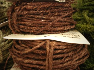 Brown Rustic Wire